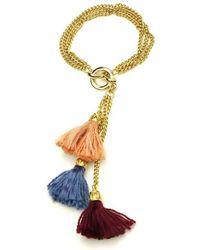 Ben-Amun - Venetian Breeze Tassel Chain Bracelet - Lyst