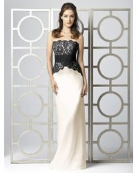 Dessy Collection - Bl Dress In Ivory - Lyst