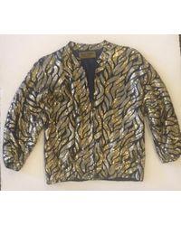 Karen Zambos - Joplin Sequin Zip Up Jacket - Lyst