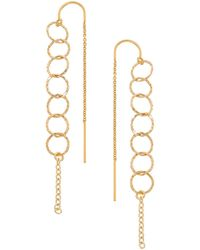 Heather Hawkins | Open Link Thread Thru Earrings | Lyst