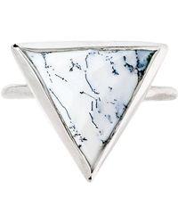 Heather Hawkins - Trillion Ring - Dendritic Opal - Lyst