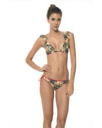 Malai Swimwear - Summer Bird Triangle Top T - Lyst