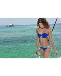 AlmaMia Swimwear - Pacifica Strapless Top T - Lyst