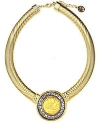 Ben-Amun - Roman Coin Gold Cobra Chain Necklace - Lyst