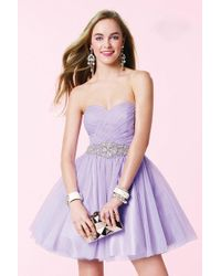 Alyce Paris - Homecoming - Dress In Lilac - Lyst