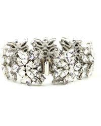 Ben-Amun - Crystal Butterfly Bracelet - Lyst