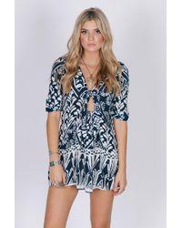 Raga - Tropic Blues Dress - Lyst