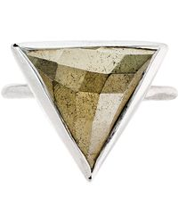 Heather Hawkins - Trillion Ring - Pyrite - Lyst