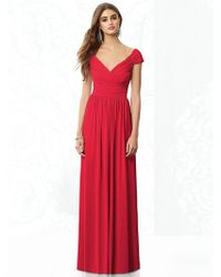 After Six - Dress In Flame - Lyst