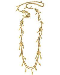 Ben-Amun - Bohemian Long Discs Necklace - Lyst