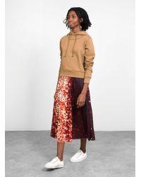 A Detacher - Serafina Printed Skirt - Lyst