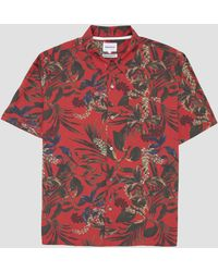 Norse Projects - Red Carsten Print Shirt - Lyst