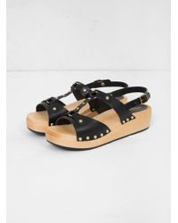 Swedish Hasbeens - Rivet Sandals - Lyst