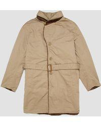 Engineered Garments - Shawl Collar Reversible Coat Chino Twill - Lyst