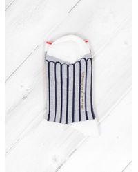 Minä Perhonen - Finger Stripe Socks - Lyst