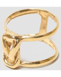 Odette New York - Stacked Lovers Knot Ring - Lyst