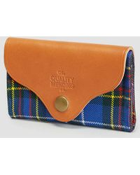 The Quality Mending Co. - Harkness Tartan Wallet - Lyst