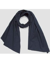 Engineered Garments - Long Scarf Navy High Count - Lyst
