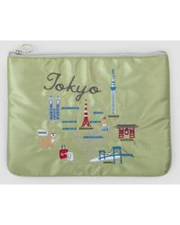 Weekend(er) - Tokyo Embroidered Pouch - Lyst