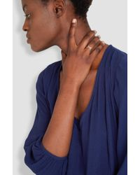 Helena Rohner - Thin Silver Wire Ring - Lyst