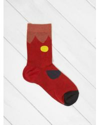 Hansel From Basel - Blooming Crew Socks - Lyst