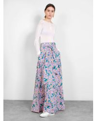 Banjanan - Discovery Floral Tiered Skirt - Lyst