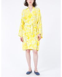 Creatures of Comfort | Robe Floral Silk | Lyst