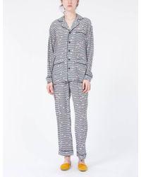Creatures of Comfort - Pajama Set C Print - Lyst