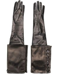 Ann Demeulemeester - Detachable Cuff Joris Gloves - Lyst