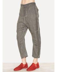 Lumen Et Umbra - Viscose Wool Angora Cropped Pants - Lyst