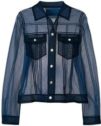 Viktor & Rolf Sheer Shirt-like Top