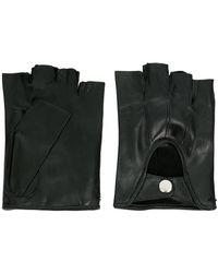 Ann Demeulemeester - Fingerless Gloves Joris Black - Lyst