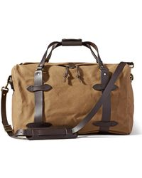 Filson - Medium Rugged Twill Duffle Tan - Lyst
