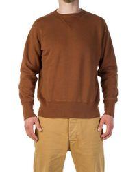 Levi's - Bay Meadows Sweatshirt Faded Brown - Lyst