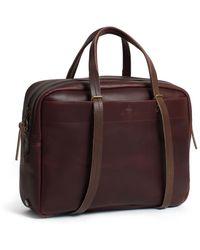 Bleu De Chauffe - Business Bag Report 2 Tourbe - Lyst
