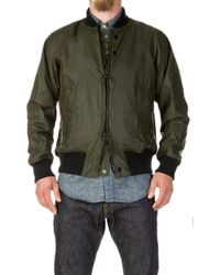 Barbour - X Engineered Garments Dumbo Wax Archive Jacket Olive - Lyst