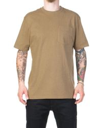 Filson - Outfitter Solid One Pocket T-shirt Rugged Tan - Lyst