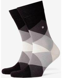 Burlington - Clyde Socks Black - Lyst