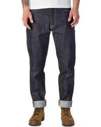 Edwin - Ed-45 Red Listed Selvage Denim Unwashed 14oz - Lyst
