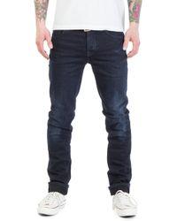 Nudie Jeans - Nudie Jeans Grim Tim Dark Shield - Lyst