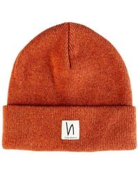 Nudie Jeans - Co. Liamsson Beanie Orange - Lyst