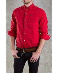 April77 - Aprill 77 Records Devo Club Shirt Red - Lyst