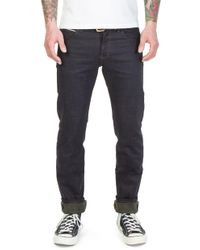 Naked & Famous - Super Skinny Guy Army Weft 12.5oz - Lyst