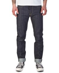 Edwin - Ed-one Red Listed Selvage Indigo 14oz - Lyst