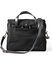 Filson - Original Briefcase Black - Lyst