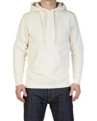 Velva Sheen - Japanese Pullover Hoody Off White - Lyst