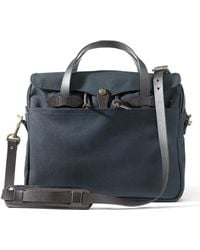 Filson - Original Briefcase Navy - Lyst