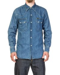 Lee Jeans - Western Denim Shirt Aged Wash - Lyst