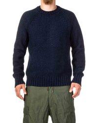 Levi's - Fisherman Sweater Indigo Blue - Lyst