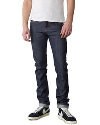 Naked & Famous - Skinny Guy Dirty Fade Denim 14.5oz - Lyst